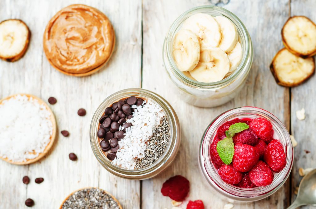 Low-Calorie Overnight Oats